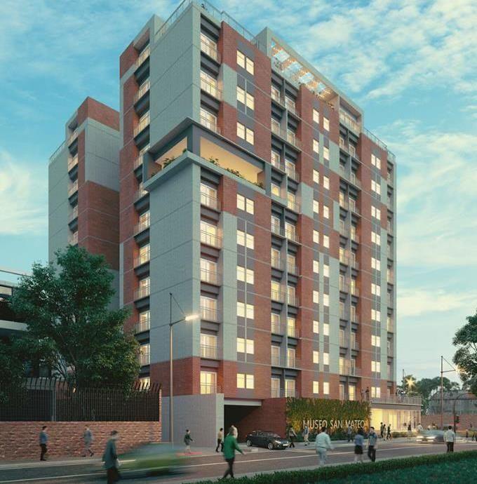 Museo San Mateo Apartamentos en Venta Zona 7 Guatemala