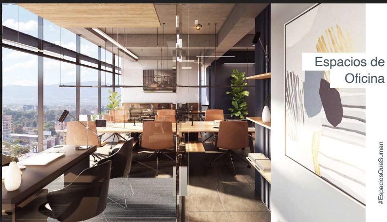 Oficinas Nuevas en Edificio 01010, zona 10
