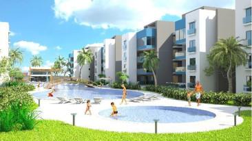 Apartamento en venta de tres habitaciones,Punta Cana