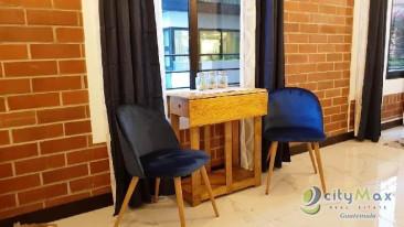 Apartamento tipo estudio en renta y venta en zona 15