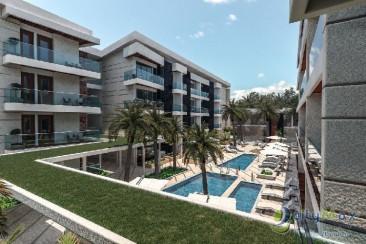 Apartamento con Vista a la Piscina en Punta Cana