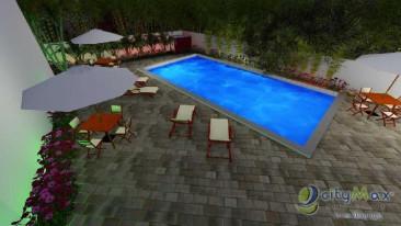 Apartamento en Venta en Jacobo Majluta 56 mts terraza