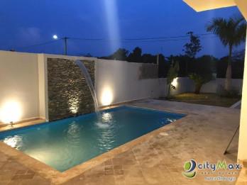 lujosa villa de 2 niveles en venta en bayahibe