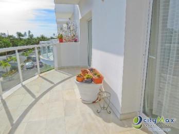 apartamento amueblado en venta en playa nueva romana
