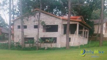 Terreno 875 metros con casa de 3H en Venta en Jarabacoa