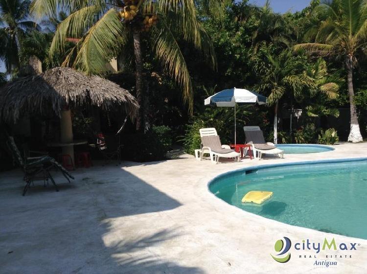 Se vende hermosa casa de playa en Iztapa Escuintla.