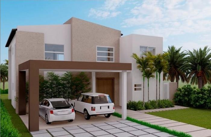 Moderna villa en venta en exclusivo Punta Cana Village