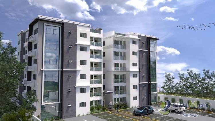 Hermosa Torre de Apartamentos en planos en Urb. Thomén