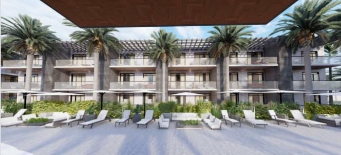 Apartamento en venta con playa y muebles en bavaro