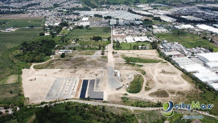 Terrenos para bodegas Venta Carretera Amatitlán-Palin
