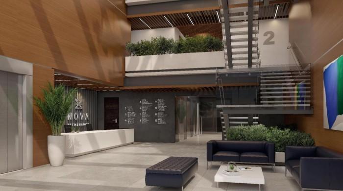 Locales comerciales nuevos en edificio de zona 9