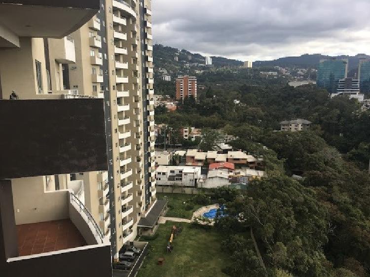 APARTAMENTO DE TRES HABITACIONES EN ZONA 15 AMUEBLADO