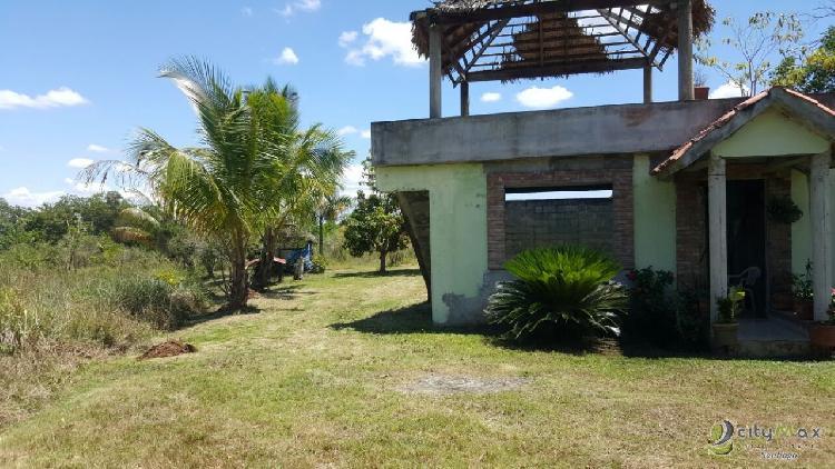 Finca en la entrada de villa mella, Santo Domingo