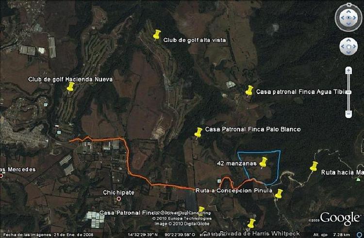 Terreno en venta en Mataquescuintla Jalapa Guatemala