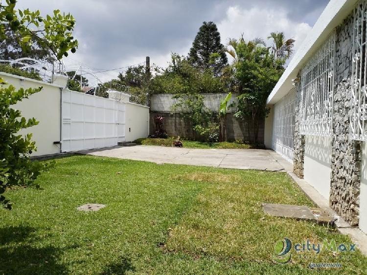 Casa o Terreno en venta o renta VISTA HERMOSA I zona 15