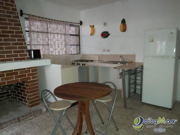 Apartamento amueblado en San Bartolomé Becerra, Antigua