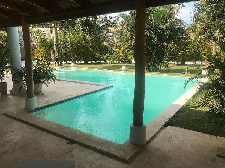 Villa amueblada en alquiler en Los Nomadas Las Terrenas