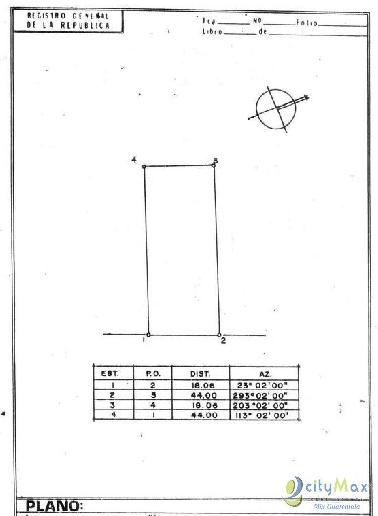 Bodega de 18X44m en Venta o Renta en Zona 14