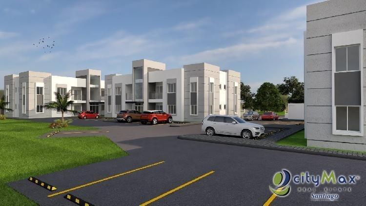 CITYMAX VENDE Apartamento en Zona Residencial en Moca