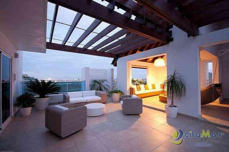 Penthouse En Venta En El Exclusivo Sector De Naco Santo