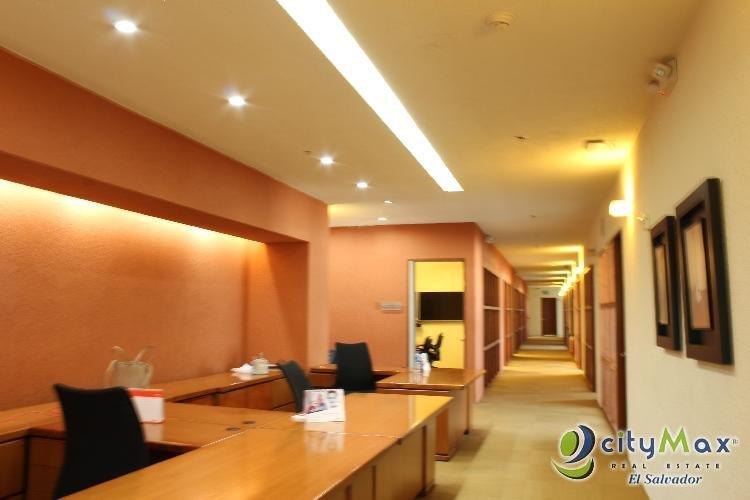 RENTO oficina AMUEBLADA edificio Santa Elena 1,732 m2