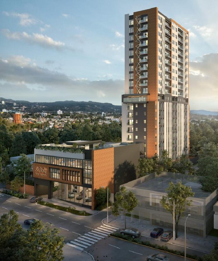 Apartamento en Venta en Planos con Balcón en Zona 10