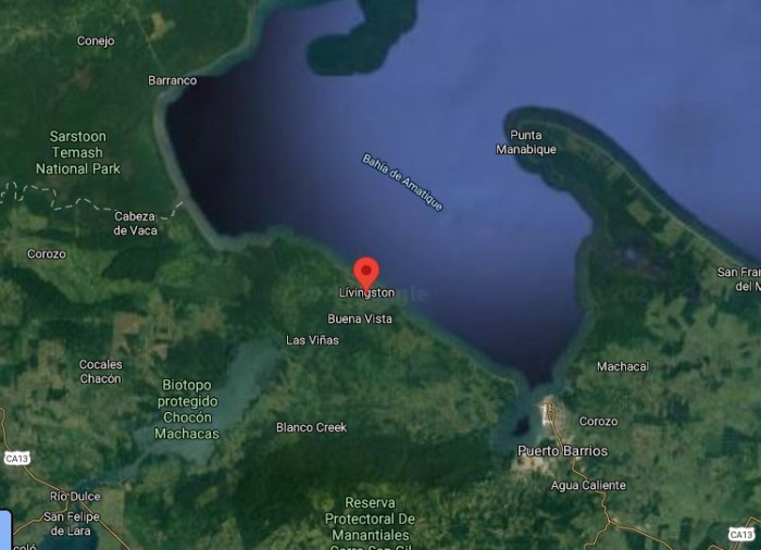 TERRENO VACACIONAL EN LIVINGSTON IZABAL GUATEMALA