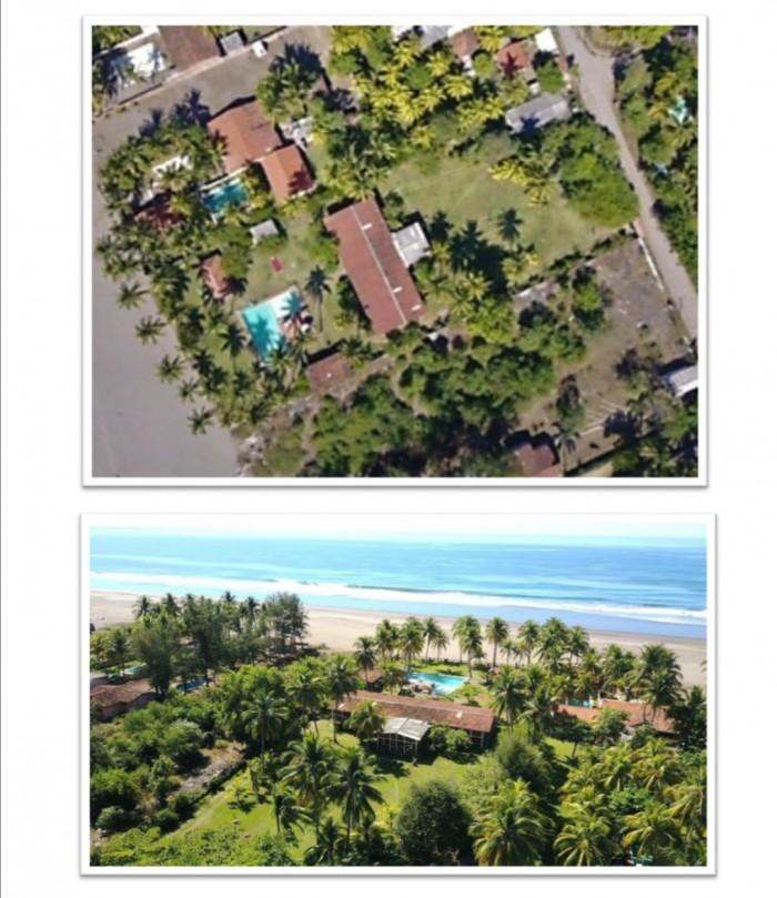 Hermosa Propiedad de Playa en Costa Azul Primera Fila
