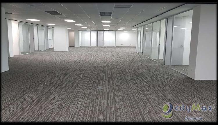 EN RENTA amplia oficina 710 m2 en Reforma 10