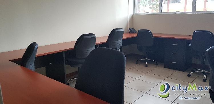 Alquilo oficina todo incluido En Lomas de San Francisco