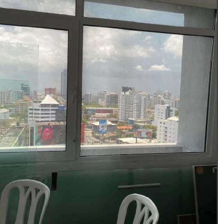 Oficina en renta piso alto ubicado en la Esperilla