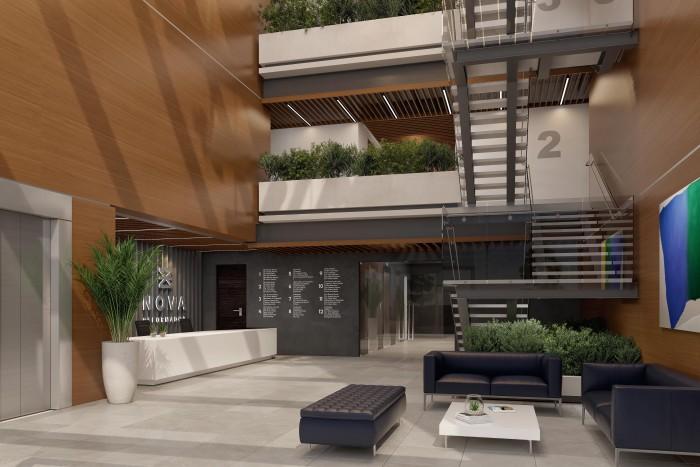 RENTA Oficina en Edificio nuevo en zona 9