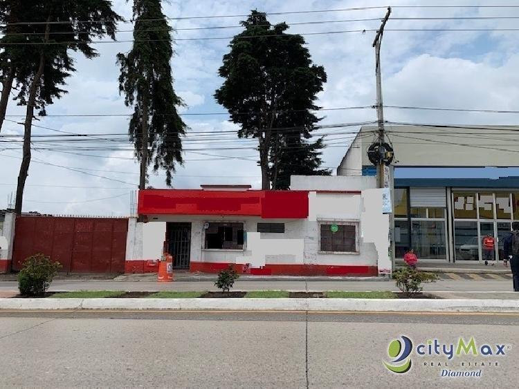 RENTA Terreno USO COMERCIAL pueblo de San Jose Pinula