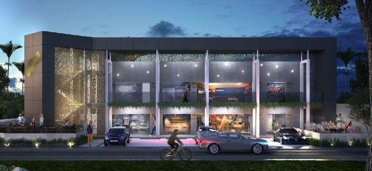 Local comercial en renta con terrazas ubicado en Naco