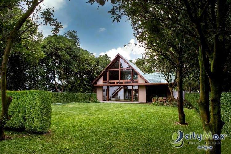 Casa en venta cercana a La Antigua Guatemala San Miguel