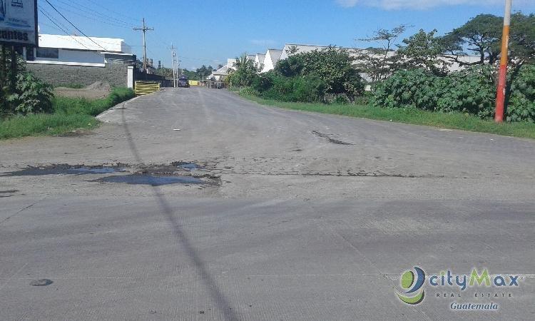 Rento Terreno en el Km. 98 Puerto Quetzal