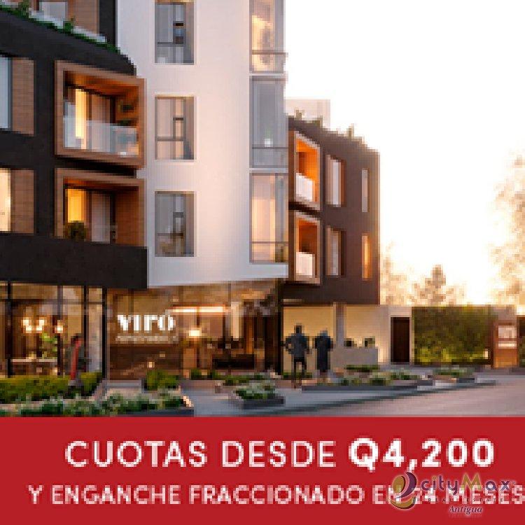 CityMax Antigua vende apartamento con financiamiento