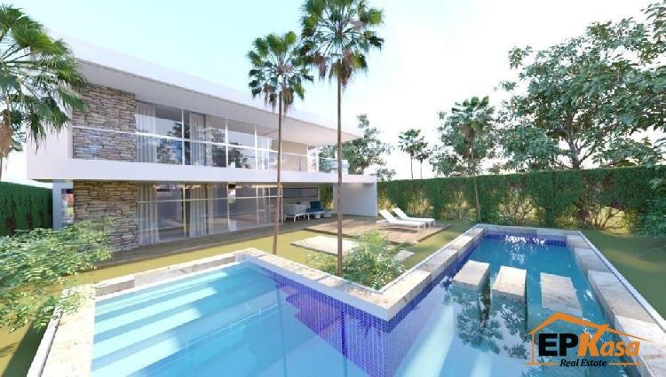 Villas de 2 niveles, Ola Azul, Playa nueva Romana.