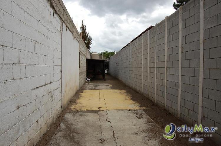 CityMax Antigua vende y renta terreno en Pastores