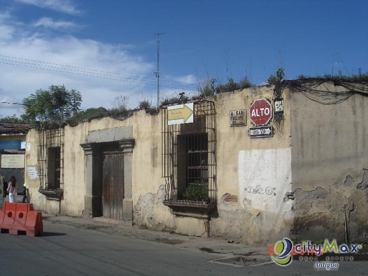 Terreno en venta o renta en Antigua Guatemala ideal neg