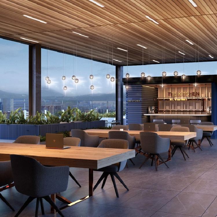 Oficina exclusiva en venta en edificio nuevo en zona 10