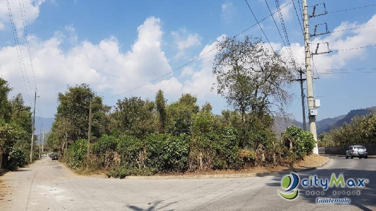 Vendo terreno de 20,003.677Vrs en la Antigua Guatemala