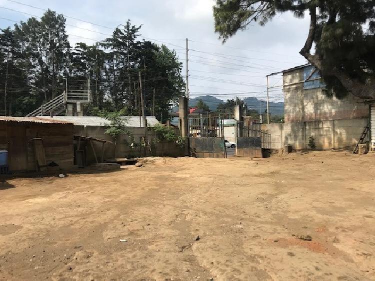 Terreno en renta en San Lucas Sacatepéquez Guatemala