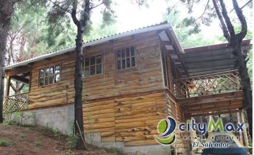 Cabaña en venta en Condominio Montepinar Chalatenango.