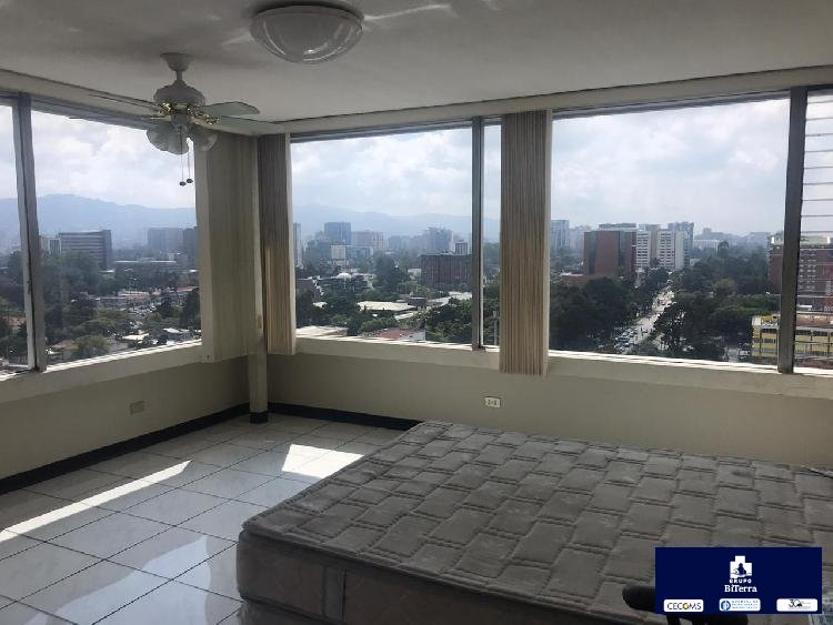 Apartamento de dos habitaciones amueblado en zona 9