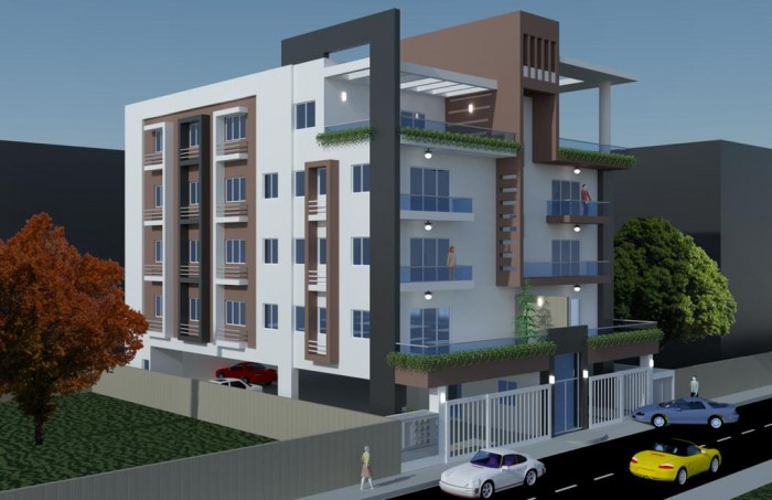 Penthouse en venta de 3 habitaciones en los Prados RD