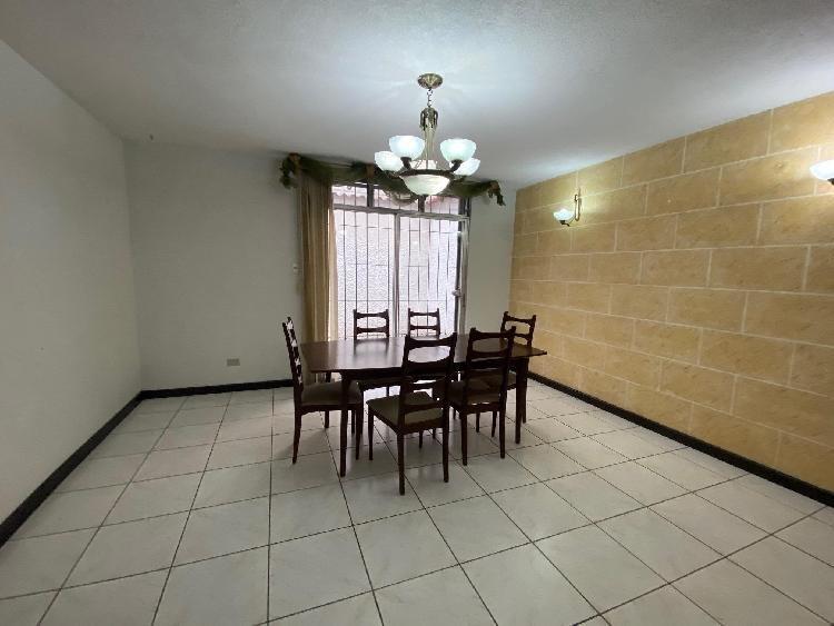 Casa en renta en condominio zona 14 Guatemala