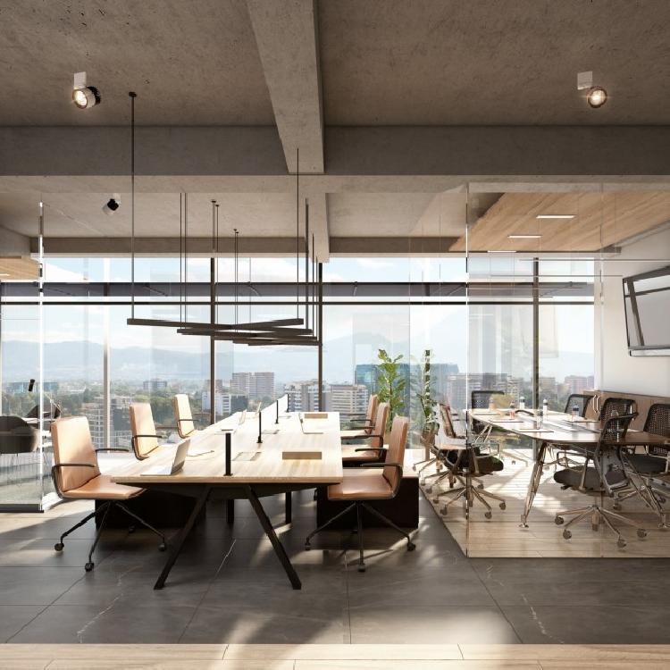 Proyecto de oficinas nuevo en zona 10 Guatemala