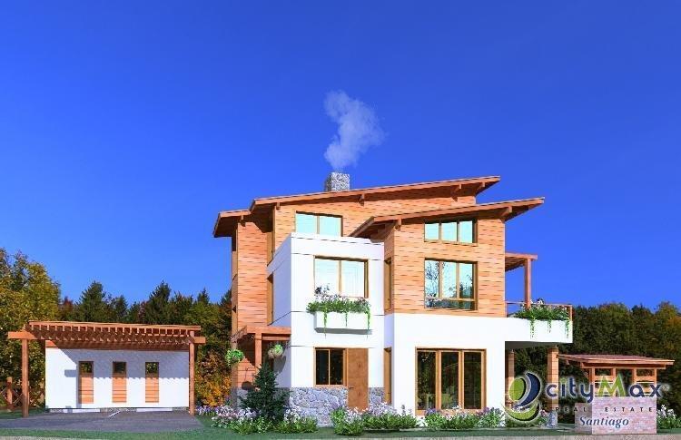 Preciosa Villa en venta en  Jarabacoa, La Vega