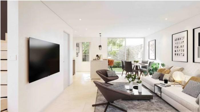 Se vende casa moderna Río Oro Santa Ana en Condominio